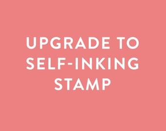 Upgrade Any Custom Return Address Stamp to Self-Inking