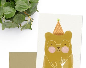 Set of 5 Folded Greeting Cards