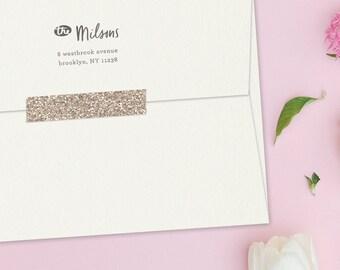 Swift Custom Return Address Stamp