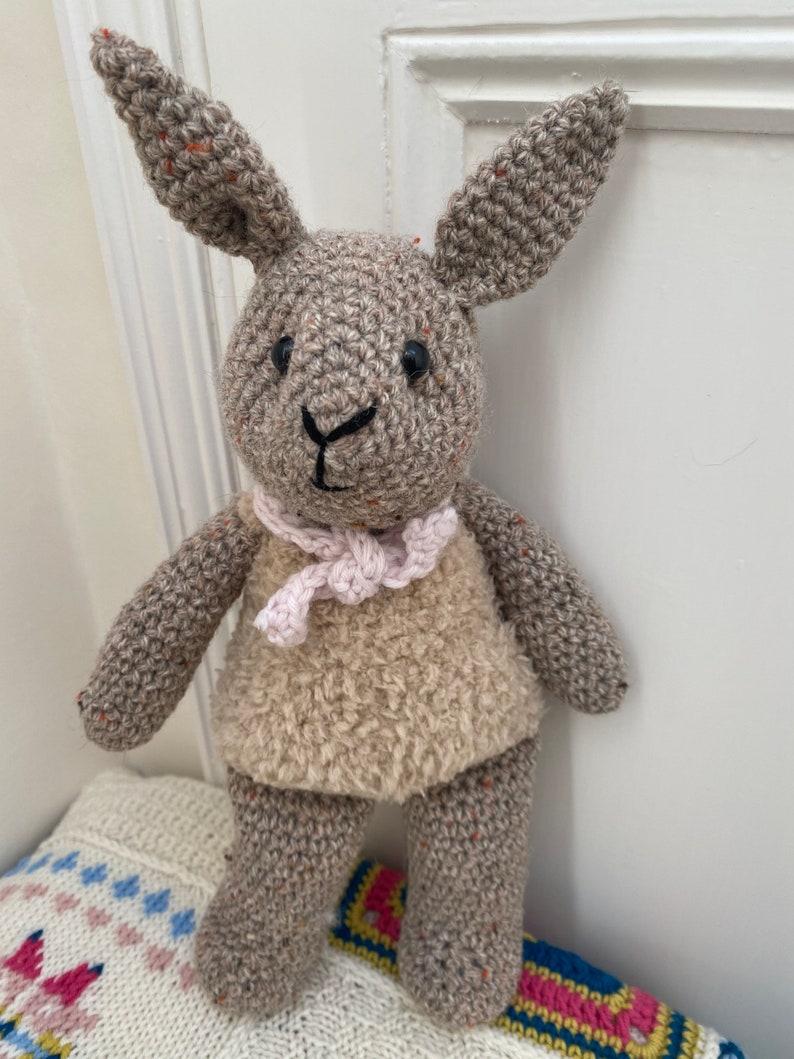 Bobby Baby Bunny by Emma Varnam CROCHET PATTERN
