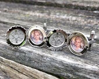 Opening Book Locket Cufflinks Book Locket Cufflinks Boyfriend Gift Gift For Husband Cufflinks Gift For Dad Christmas Gift For Him