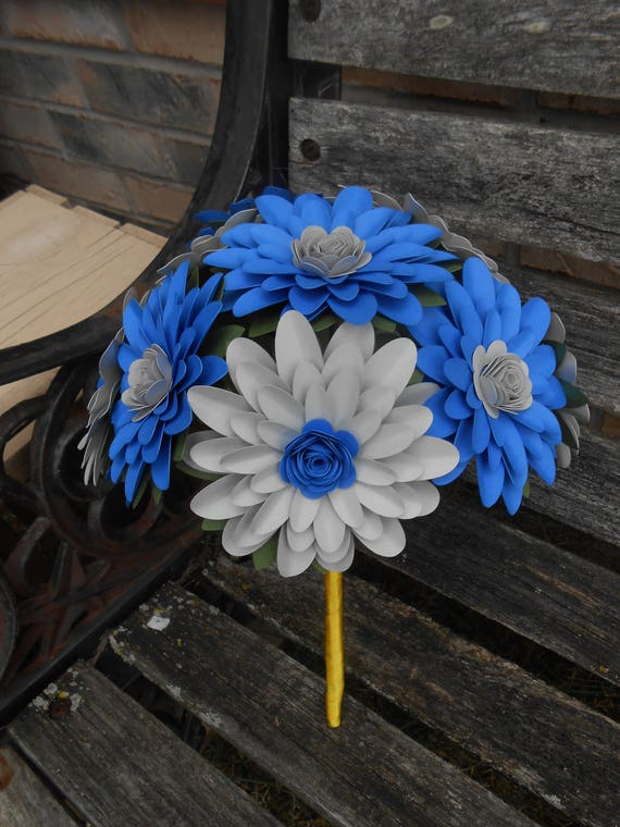 Daisy Bridal Bouquet. CHOOSE YOUR COLORS! Gerber, Gerbera. Centerpiece, Wedding, Bridesmaid, Flower Girl, Maid of Honor. Custom