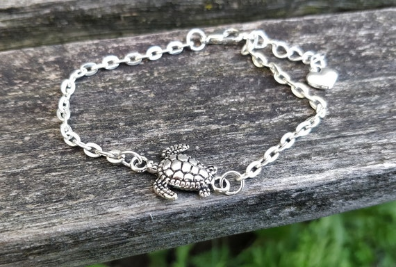 Turtle Bracelet. Anniversary Gift, Birthday Gift, Gift For Mom, Kids Gift