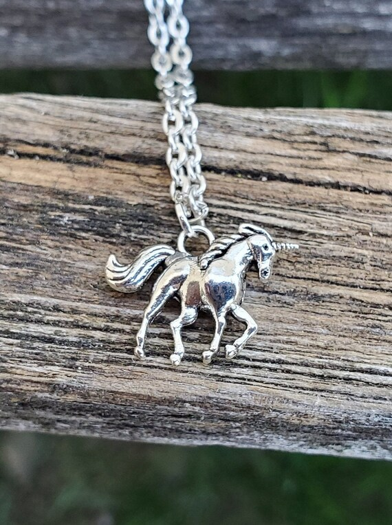 Unicorn Necklace. Gift For Girls, Mom, Wedding, Bridesmaids, Anniversary, Birthday, Christmas.