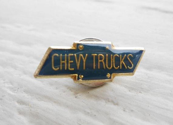 Vintage Chevy Logo Pin. Mechanic Gift, Anniversary, Dad, Groomsmen Gift, Birthday. Lapel Pin