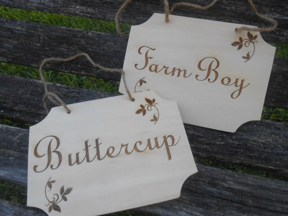 YOUR CHOICE Custom Wood Signs. Bride & Groom Chair Signs, Wedding Decoration. Rustic.