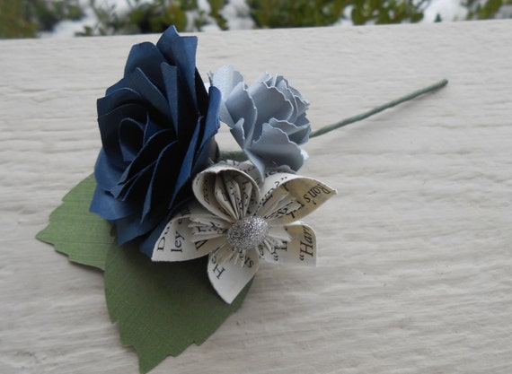 Custom Boutonnieres. CHOOSE Your STYLE & COLORS! Any Amount, Colors, Theme, Etc. Custom Orders Welcome.