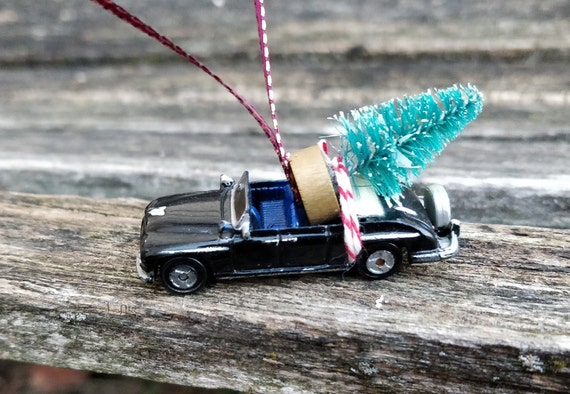 Car & Tree Ornament. Perfect Gift. Unique, Christmas, Holiday, Anniversary. Kids. Model, Miniature