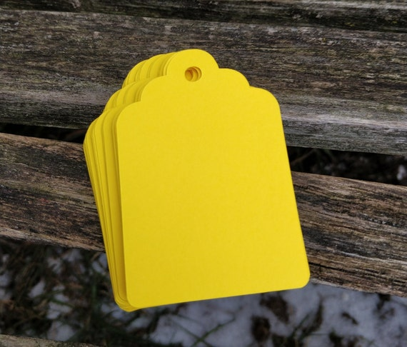 150 Scalloped Tags, CHOOSE SIZE & COLORS. Wedding, Favor, Place Card, Escort Card, Gift Tag, Wishing Tree Tag. Custom Orders Welcome