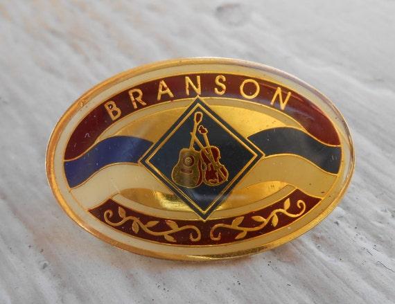 Vintage Branson, Missouri Pin.  Lapel Pin, Dad, Groomsmen Gift, Birthday.