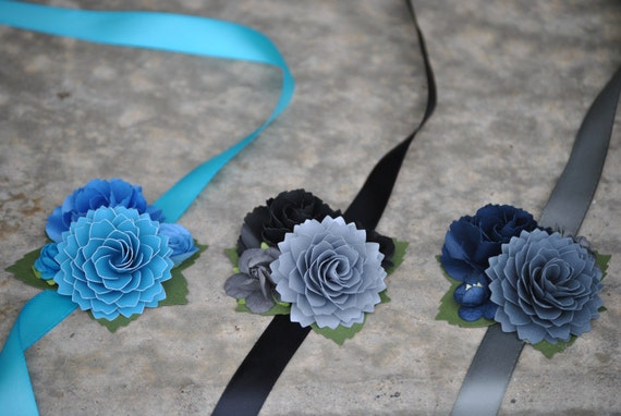 Custom Wrist Corsage. CHOOSE YOUR COLORS. Weddings, Bridesmaid, Mother of the Bride, Groom. Prom, Homecoming, Etc.