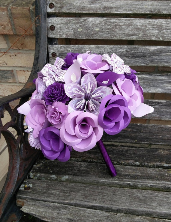 Custom Wedding Bouquets. Bridal, Bridesmaid, Flower Girl Bouquet. Custom Orders Welcome.