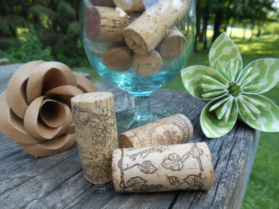 Real Wine Corks, CHOOSE Your Amount. No Synthetics. Some Vintage.