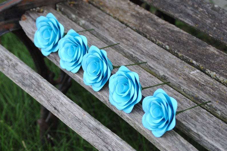 Any Amount Colors Theme Custom Orders Welcome. Etc Paper Rose Boutonnieres CHOOSE YOUR COLORS