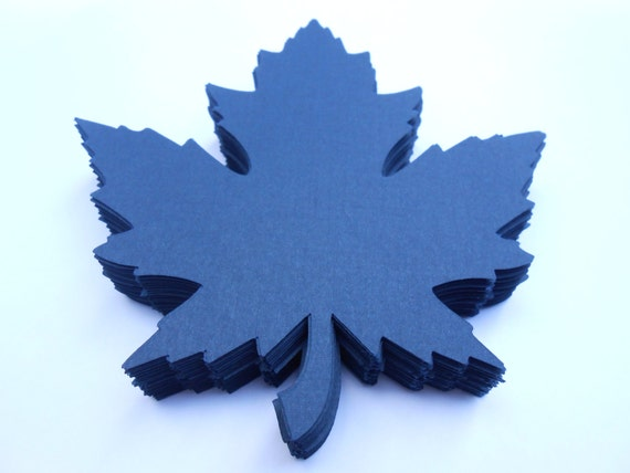 150 Maple Leaves, 5 inch. CHOOSE YOUR COLORS. Place Cards, Escort Cards, Wishing Tree Decoration.