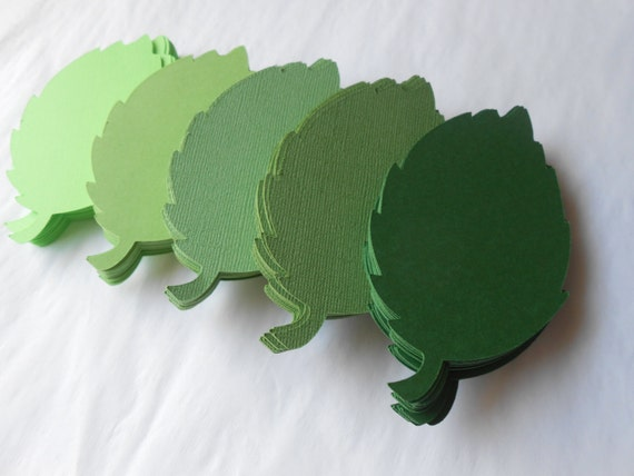 100 Rose Leaves. 4 inch. Or CHOOSE YOUR COLORS.  Wedding, Favor, Tags, Escort, Wishing Tree, Thank You.