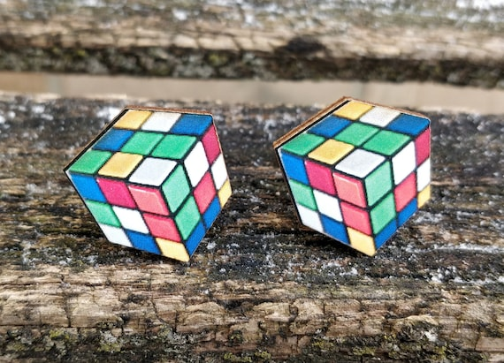 Game Cube Cufflinks. Wedding, Groomsmen Gift, Groom. Anniversary. Birthday. Valentine's Day
