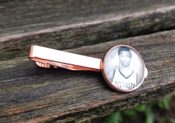 Photo Tie Clip. Wedding, Groom, Groomsmen Gift, Dad, First Anniversary, Birthday. Memory