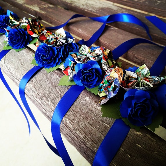 Custom COMIC Wrist Corsage. Your Choice Of Comics. Weddings, Prom, Homecoming, Etc.