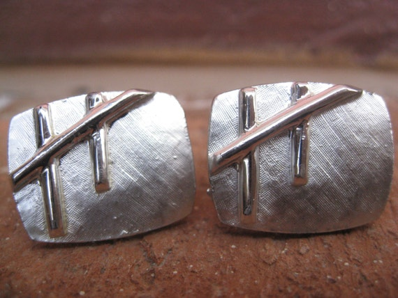 Vintage Abstract Cufflinks. Modern. Wedding, Men's Christmas Gift, Dad. CUSTOM ORDERS Welcome