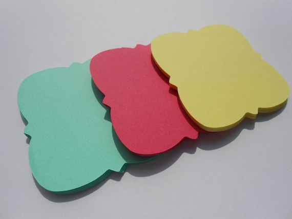 50 Square Tags. Choose your Colors Size, & Shape. Weddings, Favor, Wishing Tree, Escort, Gift, Table.
