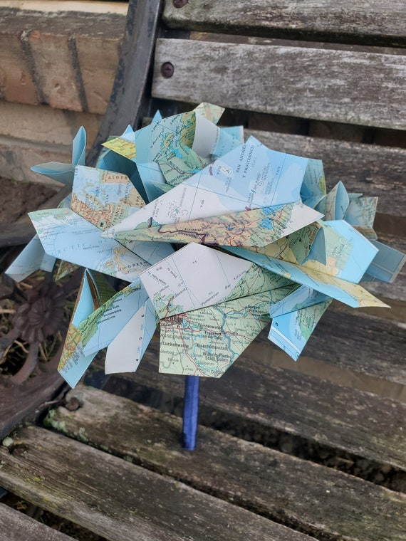 Paper Airplane Wedding Bouquet. You Pick The Colors. Bridal, Bridesmaid. Airplane Bridal Bouquet. Airplane Bouquet