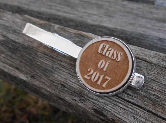 Graduation Tie Clip. Choose Your YEAR!!! Laser Engraved. Class Of, Party, College