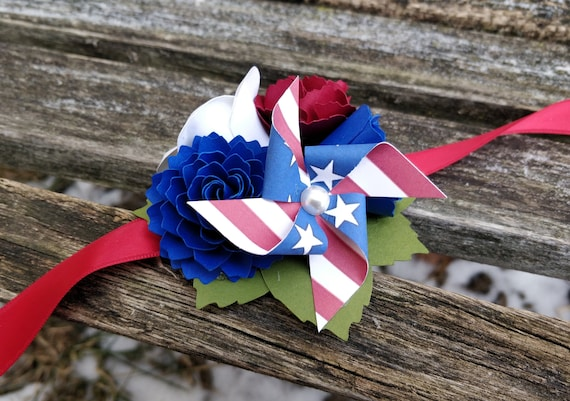 Pinwheel Custom Corsage. CHOOSE YOUR COLORS. Wrist or Pin-On. Weddings, Prom, Homecoming, Etc.
