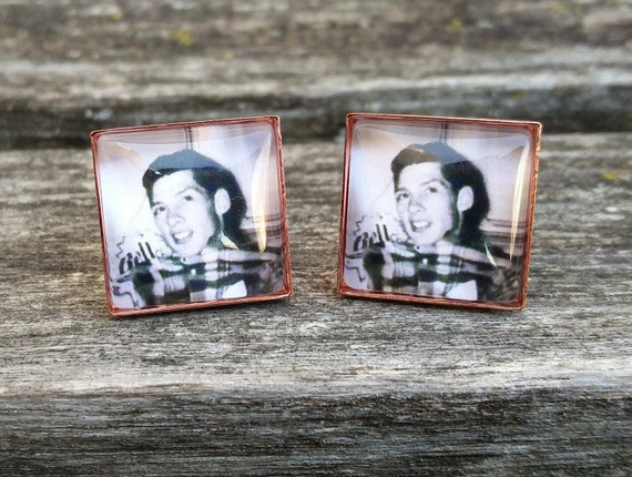 Custom Photo Cufflinks. Wedding, Anniversary, Father's Day, Christmas Gift, Dad, Birthday, Groom, Valentine's Day
