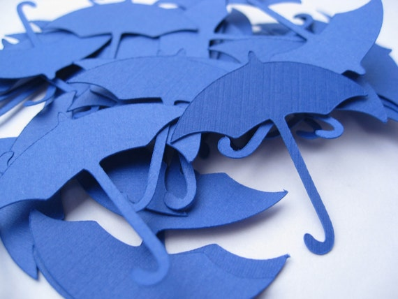 25 Umbrellas. CHOOSE SIZE & COLORS. Weddings, Favors, Wishing Tree, Confetti, Decoration. Blue, Black