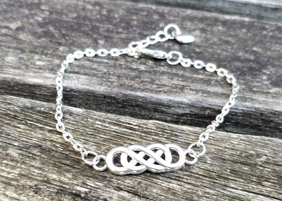 Celtic Knot Bracelet. Anniversary Gift, Birthday Gift, Irish Bracelet.