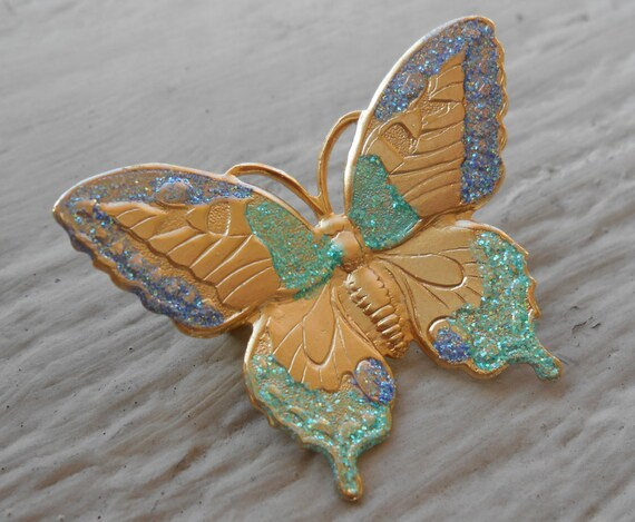 Vintage Butterfly Pin.  Mom, Anniversary, Women's Gift, Birthday.