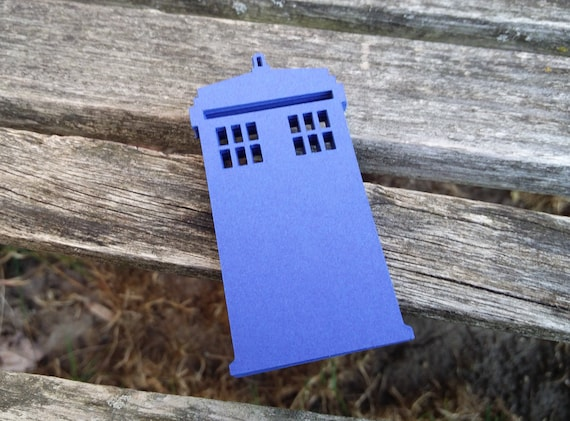 50 Police Boxes, 3.5 Inch. YOUR CHOICE Of Colors. Wedding, Favor, Wishing Tree, Escort, Gift, Table.