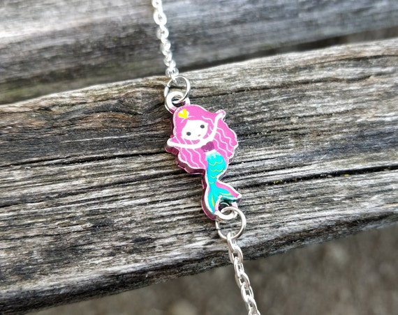 Mermaid Bracelet, CHOOSE YOUR COLOR. Gift For Girls, Anniversary Gift, Birthday Gift, Christmas Gift.