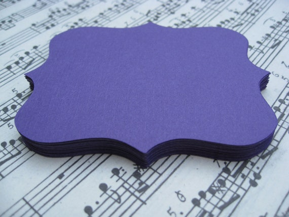 60 Fancy Top Notes. 5 inch. CHOOSE YOUR COLORS. Weddings, Favor, Place Cards, Escort, Table.
