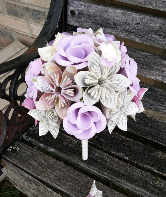 Custom Wedding Bouquets. You Pick The Colors, Paper, Etc.  Anything Is Possible. CUSTOM Orders Welcome.
