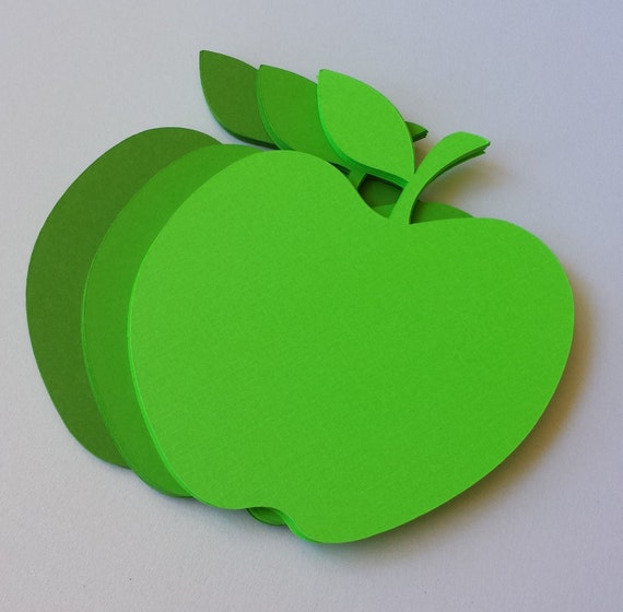 50 Granny Smith Apples. 4 inch. Party Decor, Fall Wedding. Thanksgiving. Custom Orders Welcome.
