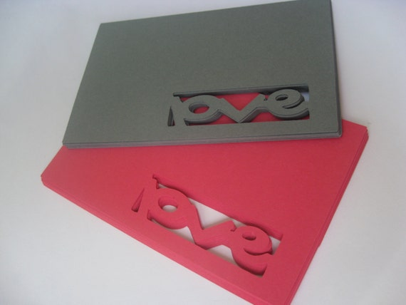 "50 ""Love"" Tags. 5 Inch. Your CHOICE of Colors. Wedding, Favor, Escort, Wishing Tree, Gifts, Place Cards. Any Color Possible."