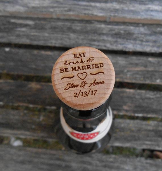 Custom Wine Bottle Stopper. CHOOSE YOUR DESIGN. Laser Engraved. Wedding, Favor, Gift. Custom Orders Welcome. Wine Cork