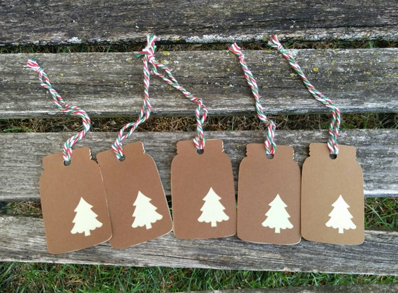 Mason Jar Tags.  inch. Christmas, Gift, Favor, Decoration. Perfect For Putting On Invitations Or Presents