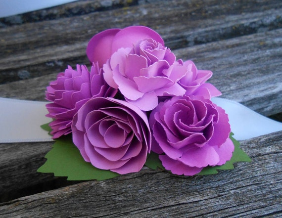 Custom Wrist Corsage. CHOOSE YOUR COLORS. Weddings, Prom, Homecoming, Etc.