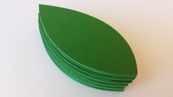 40 Lily Leaves. 3.25 Inch. CHOOSE YOUR COLORS. Escort Cards, Place Tags, Gift Tags, Wishing Tree.