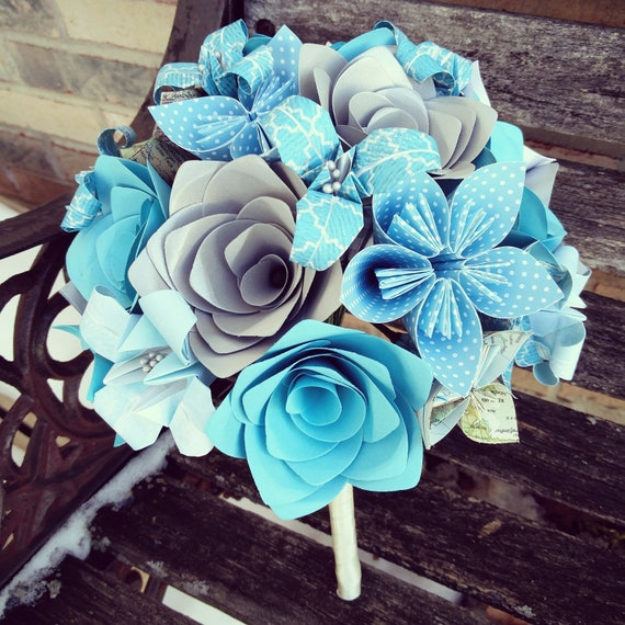 Custom Wedding Bouquets. Bridal, Bridesmaid, Flower Girl Bouquet. Custom Orders Welcome.
