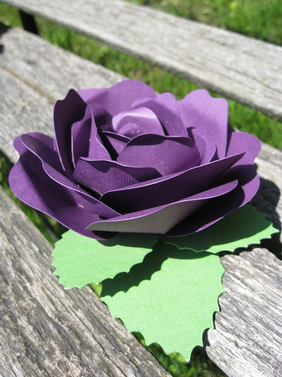 Rose Wedding Favor Decoration. CHOOSE YOUR COLORS.  Custom Orders Welcome.