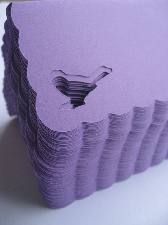 80 Bird Place Cards. CHOOSE YOUR COLORS. Weddings, Escort, Table Cards. Custom Orders Welcome.