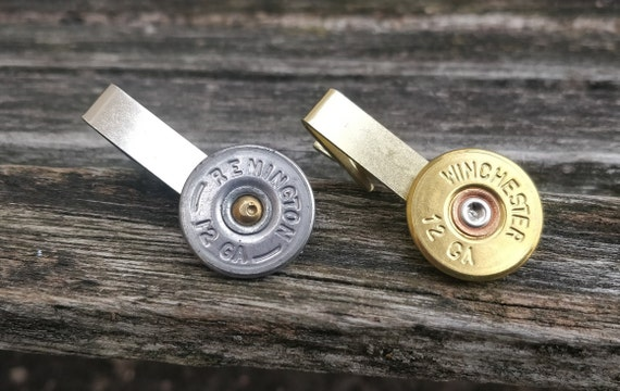 Shotgun Shell Tie Clip, 12g. Choose Your Color. Wedding, Groomsmen Gift, Dad. Christmas, Anniversary, Birthday Gift. Rifle, Gun, Bullet