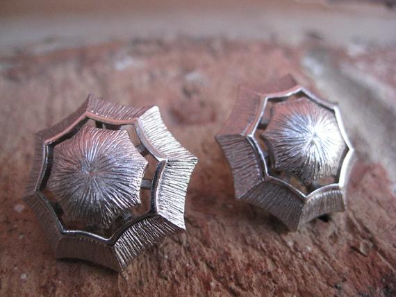SALE: Vintage Silver Earrings. Clip On.  Wedding, Mom, Anniversary, Gift. CUSTOM ORDERS Welcome
