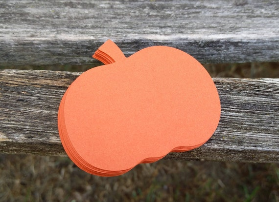 10 Pumpkins. 5 inch. Custom Orders Welcome. Halloween, Fall Decoration. Wedding Escort Card. ANY COLOR AVAILABLE.