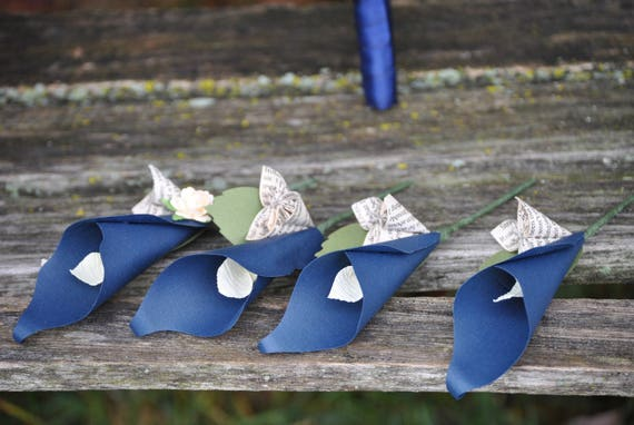 Calla Lily Boutonnieres. CHOOSE YOUR COLORS! Any Amount, Colors, Theme. Prom, Wedding, Mother of the Bride, Groom