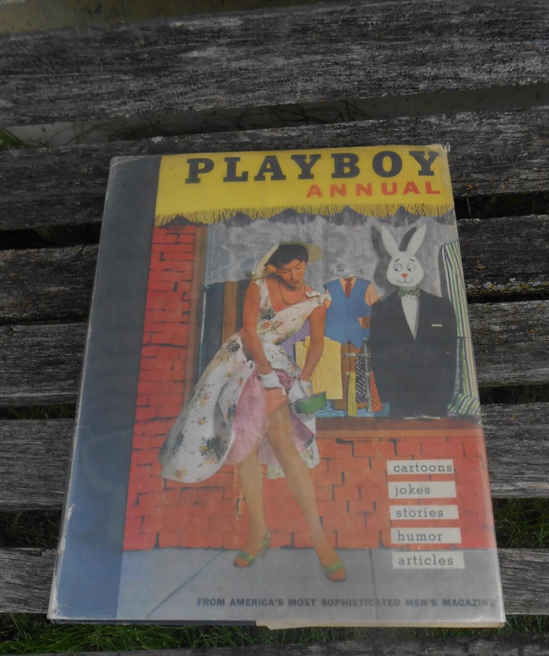 Vintage PLAYBOY Book 1956 EXPLICIT WARNING Home Decor Cabin